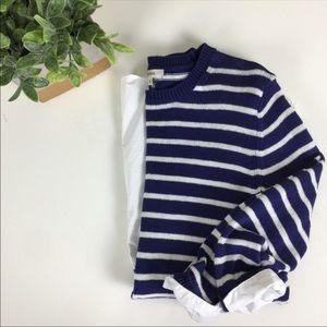 Tyler Boe | Navy Stripe Sweater